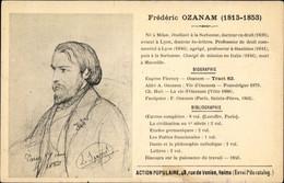 Artiste CPA Französischer Politiker Frederic Ozanam, Portrait - Unclassified