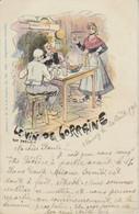 1901  Le Vin De Lorraine    Jack Abeillé  1899  Vers Guébling - Nancy