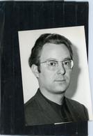 PHOTO ORIGINALE -  GARDE REPUBLICAINE . ROGER BOUTRY  Chef D 'orchestre Auteur De La Marche Des J.O.  De GRENOBLE - Personas Identificadas