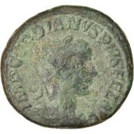 Monnaie, Gordien III, As, Rome, TB+, Bronze, RIC:300b - 5. The Military Crisis (235 AD To 284 AD)