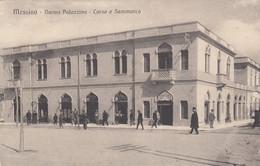 MESSINA-NUOVA PALAZZINA-CORSO E SAMMARCO-CARTOLINA ANIMATA -VIAGGIATA IL 8-6-1918 - Messina