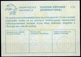 MARTINIQUE La25 International ReplyCoupon Reponse Antwortschein IAS IRC mint ** ( Vertical Watermark ) - Ohne Zuordnung