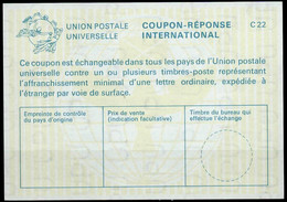 FIJI / FIDJI   La25 International ReplyCoupon Reponse Antwortschein IAS IRC mint ** ( Vertical Watermark ) - Fiji (1970-...)