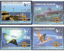 Ref. 226586 * MNH * - ECUADOR. 2008. FAUNA OF THE GALAPAGOS . FAUNA DE LAS GALAPAGOS - Ecuador