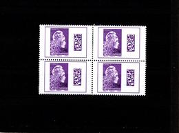 St Pierre & Miquelon--2020-- Bloc De 4 TVP **--- Marianne L'Engagée INTERNATIONNAL--- Rare!!!!!! - Unused Stamps