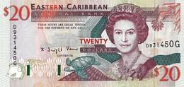 CARAÏBES ORIENTALES - GRENADE  1994  20 Dollar - P.33g  Neuf - UNC - Caraibi Orientale