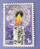 1968 -   BELGIO   -  VALORE  1  FRANCO   - USATO - Gebraucht