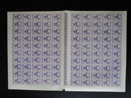 OBP585 In Volledig Vel (100 St.), Postfris** Maar Met Lichte Beschadiging - Full Sheets