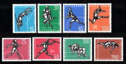 YUGOSLAVIA   SCOTT NO 672-79     MNH     YEAR  1962 - Unused Stamps
