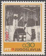 YUGOSLAVIA   SCOTT NO   888     MNH     YEAR  1967 - Unused Stamps