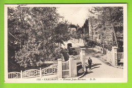 CHAUMONT : Avenue Jean Mermoz. 2 Scans. Edition Delboy - Chaumont
