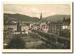 CPM Hotel Pfauen Freiburg/Schwarzwald Blick Vom Hotel Auf Stadt U. Schwarzwald - Hotels & Gaststätten