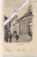 """CAPPELLEN-KAPELLEN """"KERKSTRAAT-CAFE VAN DEN BERGH-KERKTOREN""""HOELEN N°7 UITGIFTE 1901-TYPE 1 - Kapellen"""