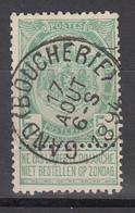 N° 56 OBLITERATION  GAND BOUCHERIE - 1893-1907 Stemmi