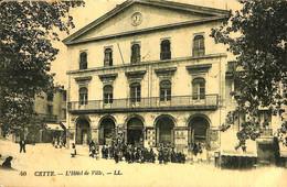 033 608 - CPA - France (34) Herault - Cette - L'Hôtel De Ville - Sete (Cette)