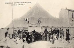 30 . GARD / NIMES. TENTE D EVANGELISATION PARIS NIMES // - Nîmes