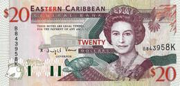 CARAÏBES ORIENTALES - SAINT-KITTS 1994  20 Dollar - P.33k  Neuf - UNC - Caraibi Orientale
