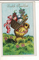 56749 - PAQUES POUSSINS - PASEN KUIKENS - VROOLIJK PAARSFEEST - Easter