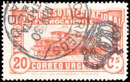 Spain 1930 Railway Congress Express Fine Used. - Oblitérés
