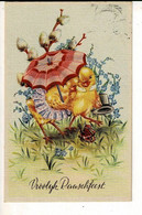 56752 - PAQUES POUSSINS - PASEN KUIKENS - VROOLIJK PAARSFEEST - Easter