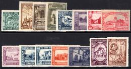 Spain 1930 Spanish-American Exhibition Regular Set Unmounted Mint. - Unused Stamps