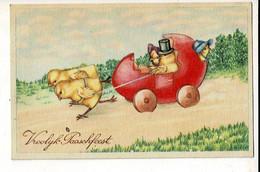 56755 - PAQUES POUSSINS - PASEN KUIKENS - VROOLIJK PAARSFEEST - Easter