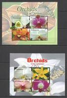VV588 MONTSERRAT FLORA NATURE FLOWERS ORCHIDS OF THE CARIBBEAN 2KB MNH - Orchids