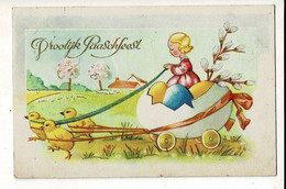 56761 - PAQUES POUSSINS - PASEN KUIKENS - VROOLIJK PAARSFEEST - Easter