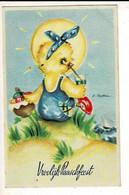 56762 - PAQUES POUSSINS - PASEN KUIKENS - VROOLIJK PAARSFEEST - Easter