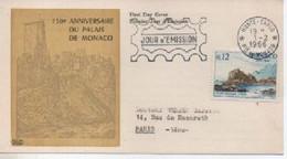 CARTE   MAXI PUBBLICITAIRE   VIBEROL MONACO SITE ET MONUMENT      N° YVERT ET TELLIER  677   1966 - Maximumkarten (MC)