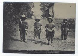 Photo  A. BRIQUET 17 - MEXICO - Estado De VERA-CRUZ-  Labradores Indigenas 1896 - Old (before 1900)