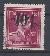 Nr 691 Gestempeld -10% St Hubert - 1946 -10%
