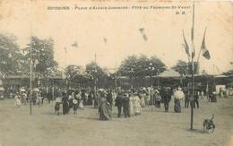 SOISSONS - Place D'Alsace Lorraine, Fête Du Faubourg Saint Vaast. - Soissons