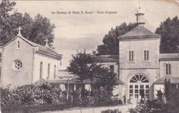 Cartolina La Certosa Di Serra San Bruno (Vibo Valentia) - Porta D'Ingresso. - Vibo Valentia
