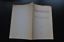 VANDEN BEMDEN ANTO CARTE CREATEUR DE VITRAUX Envoi Dédicace Extrait Revue Des Archéologues & Historiens D'art De Louvain - Belgique