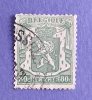 1945 -   BELGIO - DEL  VALORE DI  FRANCHI   0,80 -  USATO - Usati