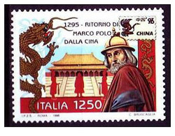 Italia - 1996 - Usato/used - Mi N. 2424 - Marco Polo - 1991-00: Afgestempeld