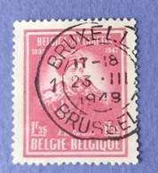 1947 -   BELGIO - DEL  VALORE DI  FRANCHI  1,35  -  USATO - Usati