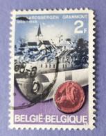1968  -   BELGIO - DEL  VALORE DI  FRANCHI  2  -  USATO - Gebraucht