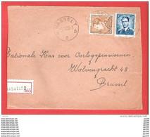 HASSELT B 2  Poortman  + Lunettes  Recommandé Aangetekend  Sur Dvt Lettre 4 XI 1955 - Briefe U. Dokumente