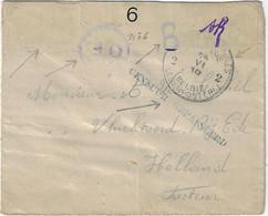 Postes Militaires Belgique Legerposterij 1916 'Censuur Gepasseerd' N° 6 - Belgisch Leger