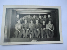 Carte Photo THEATRE - Prisonniers Sur Scene Lors D'un Spectacle Au STALAG XVIII A WOLFSBERG Autriche - War 1939-45