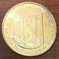 26 TOUR DE CREST MEDAILLE SOUVENIR MONNAIE DE PARIS 2009 JETON TOURISTIQUE MEDALS COINS TOKENS - 2009