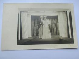 Carte Photo THEATRE - Prisonniers En TRAVESTIS Music Hall Spectacle STALAG XVIII A WOLFSBERG Autriche - War 1939-45