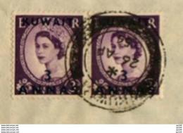 L Complète KOWE�?T   KUWAIT ARABIA Textiles Importers Saleh Al-Mussallam & Sons  Obl 26 IV 1954 Vers Bruxelles - Kuwait