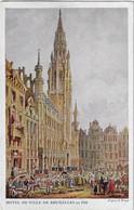 Postes Militaires Belgique Legerposterij 1916 Bruxelles Hôtel De Ville Profit Des Soldats Invalides Belges - Belgisch Leger