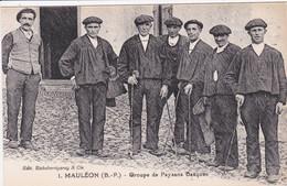 64 MAULEON Groupe De Paysans Basques - Mauleon Licharre