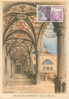CP Maximum Palais De Monaco  1952 - Maximumkarten (MC)