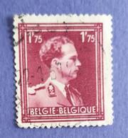 1936  -   BELGIO   -  VALORE  FRANCHI   1,75   - USATO - Usati