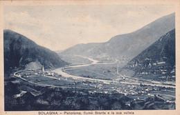 Cartolina Solagna (Vicenza) - Panorama, Fiume. Brenta E La Sua Vallata. 1939 - Vicenza